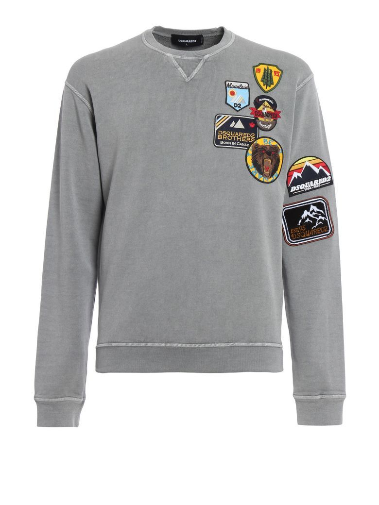 eaac85a13250 DSQUARED2 Dsquared2 Sweatshirt Patch.  dsquared2  cloth ...