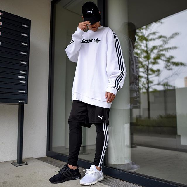 638ad64c1904 adidas x puma. today im wearing a sweater by  adidasoriginals ...