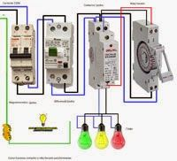 Como Funciona Contactor Reloj Horario Para Luminarias Esquemas Electricos Esquemas Reloj