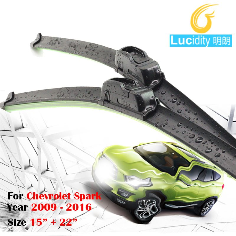 For Chevrolet Spark 2009 2016 Car Soft Rubber Windshield Wiper