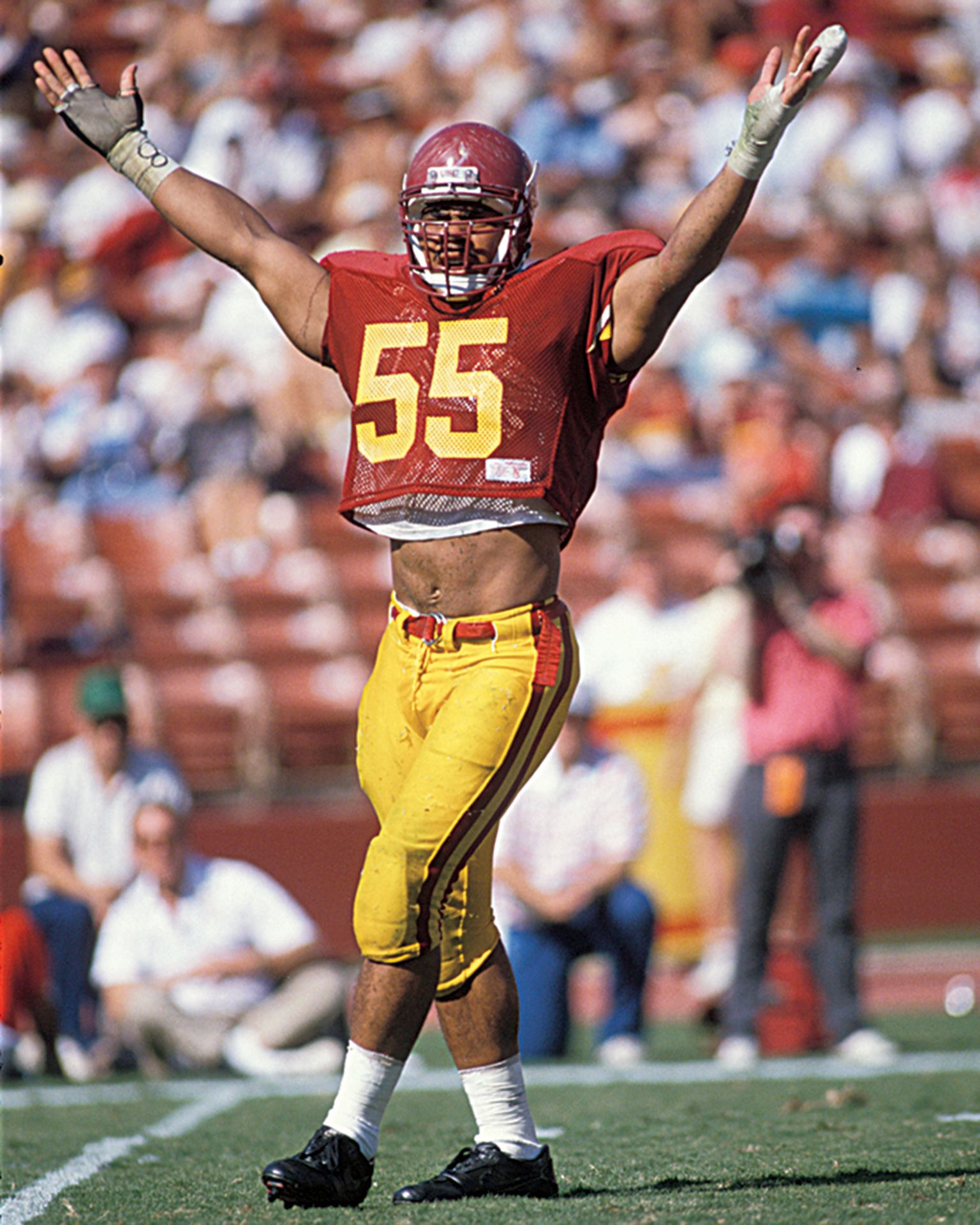 Junior seau a life in pictures college football teams