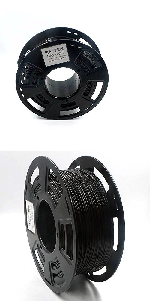 Other Crafts 75576 Hackka 1 75mm 1kg Fine Grain Carbon Fiber Reinforced Pla 3d Printing Filament Diamond Solitaire Earrings Carbon Fiber Solitaire Earrings