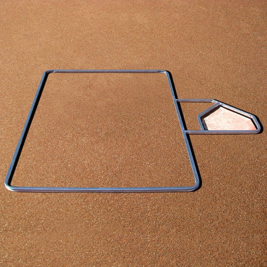 Adjustable Batter S Box Template Box Template Templates Baseball Batter