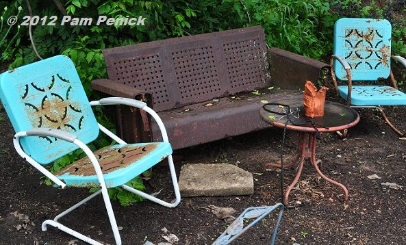 Motel Chairs | Asheville Garden Bloggers Fling: Christopher Mellou0027s Garden  Has The .