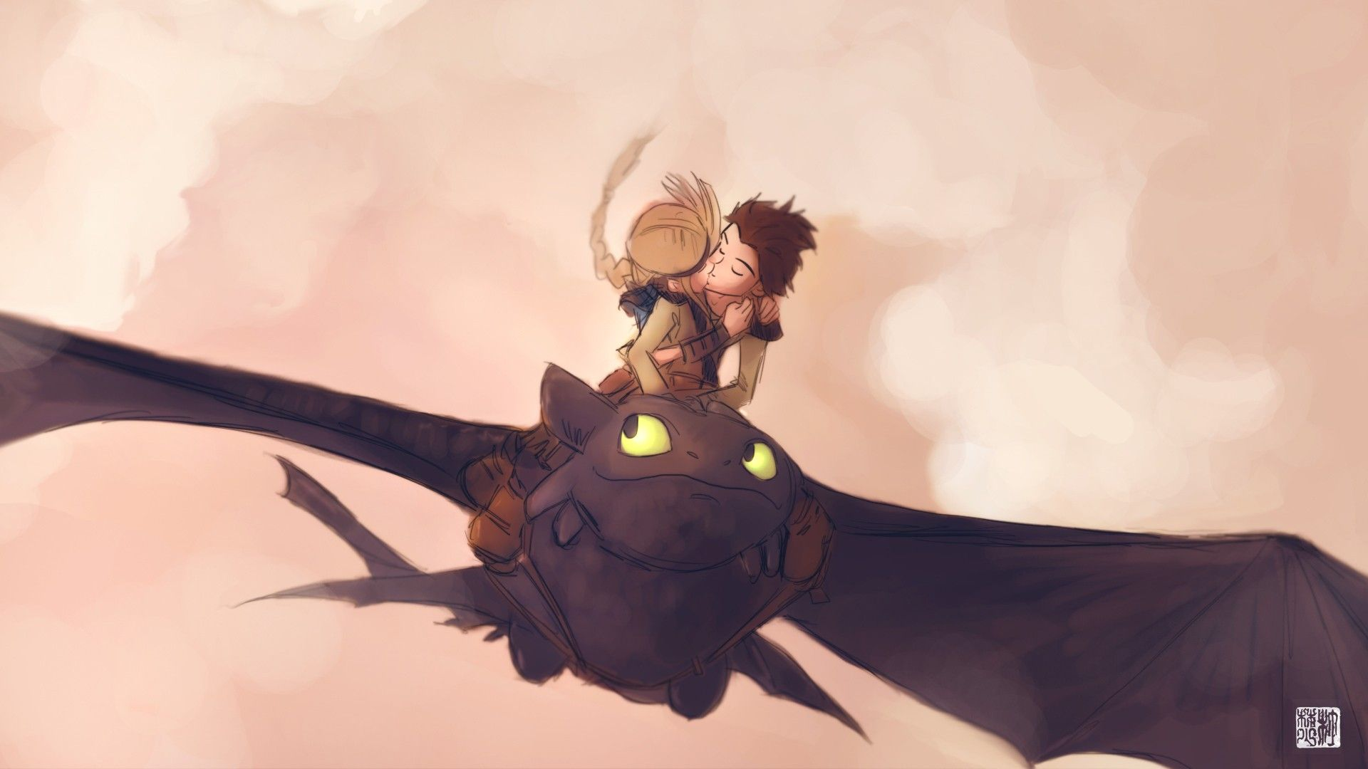 Hiccup And Astrid Fan Art #httyd