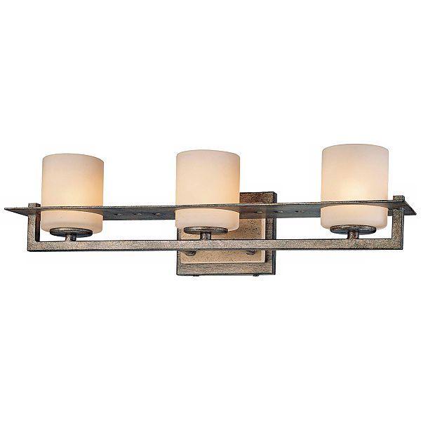 Minka Compositions 3Light Bathroom Wall Light  #eum6577  Euro Pleasing Minka Lavery Bathroom Lighting Review