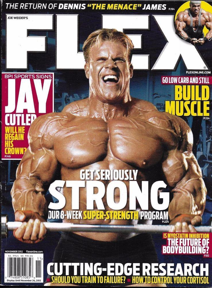 399df7da9 Flex magazine Jay Cutler Dennis James Build muscle Future of bodybuilding  Train