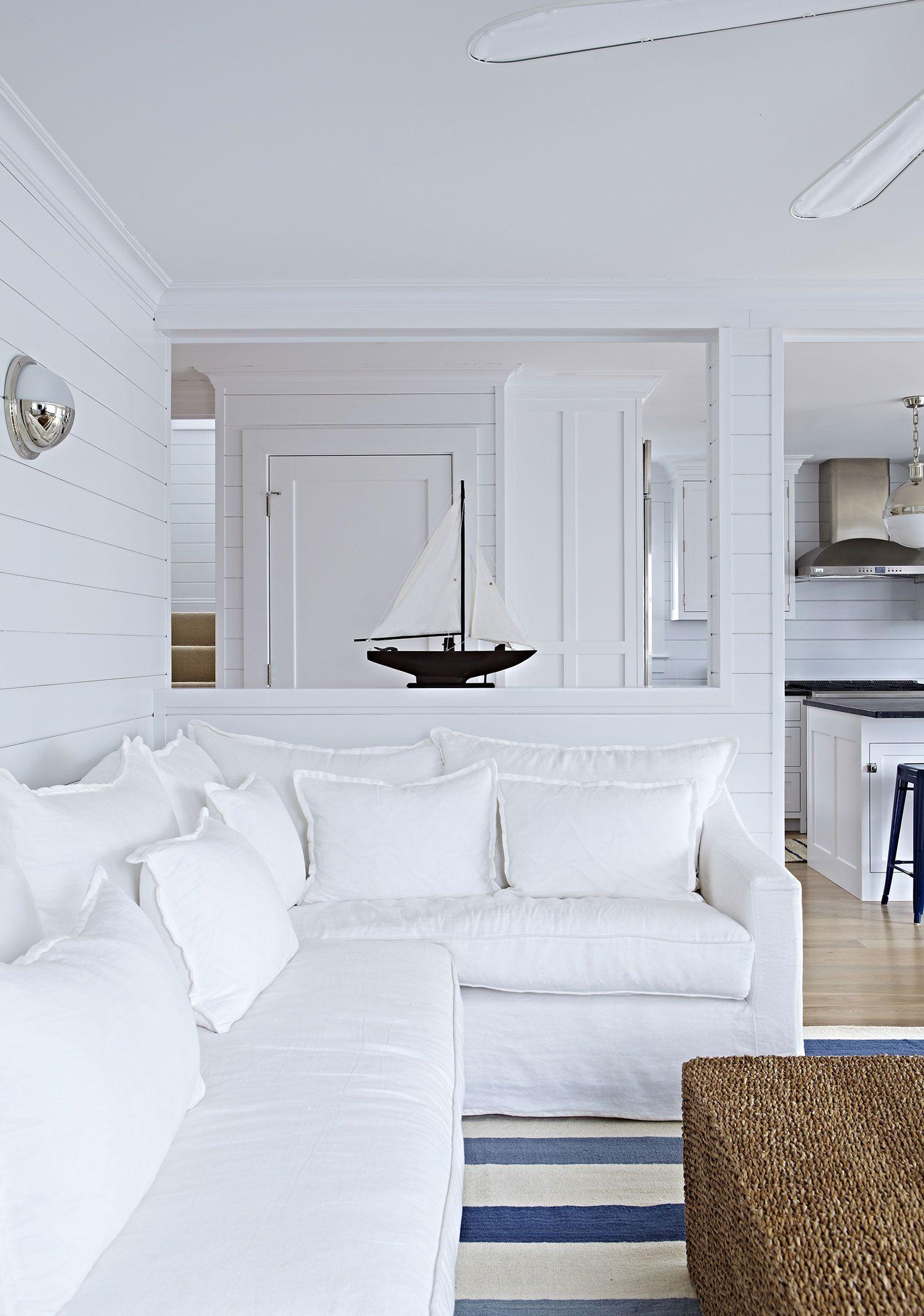 Bay Head Beach Bungalow    Living Room Details    Chango & Co ...