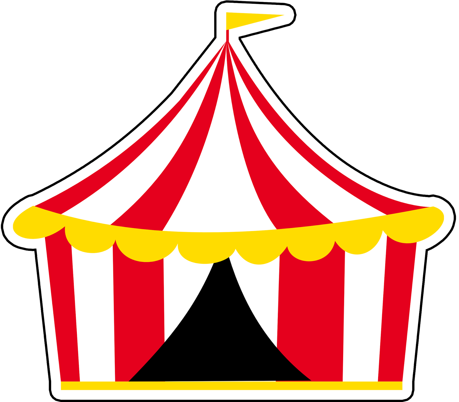 dd6b6a3df2 Montando a minha festa Imagens: Circo Circo Desenho, Convite Patati Patata,  Festa Patati