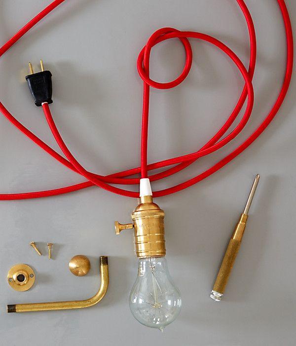 Make a Simple and Gorgeous Pendant Light | Pendants, Kings lane and ...