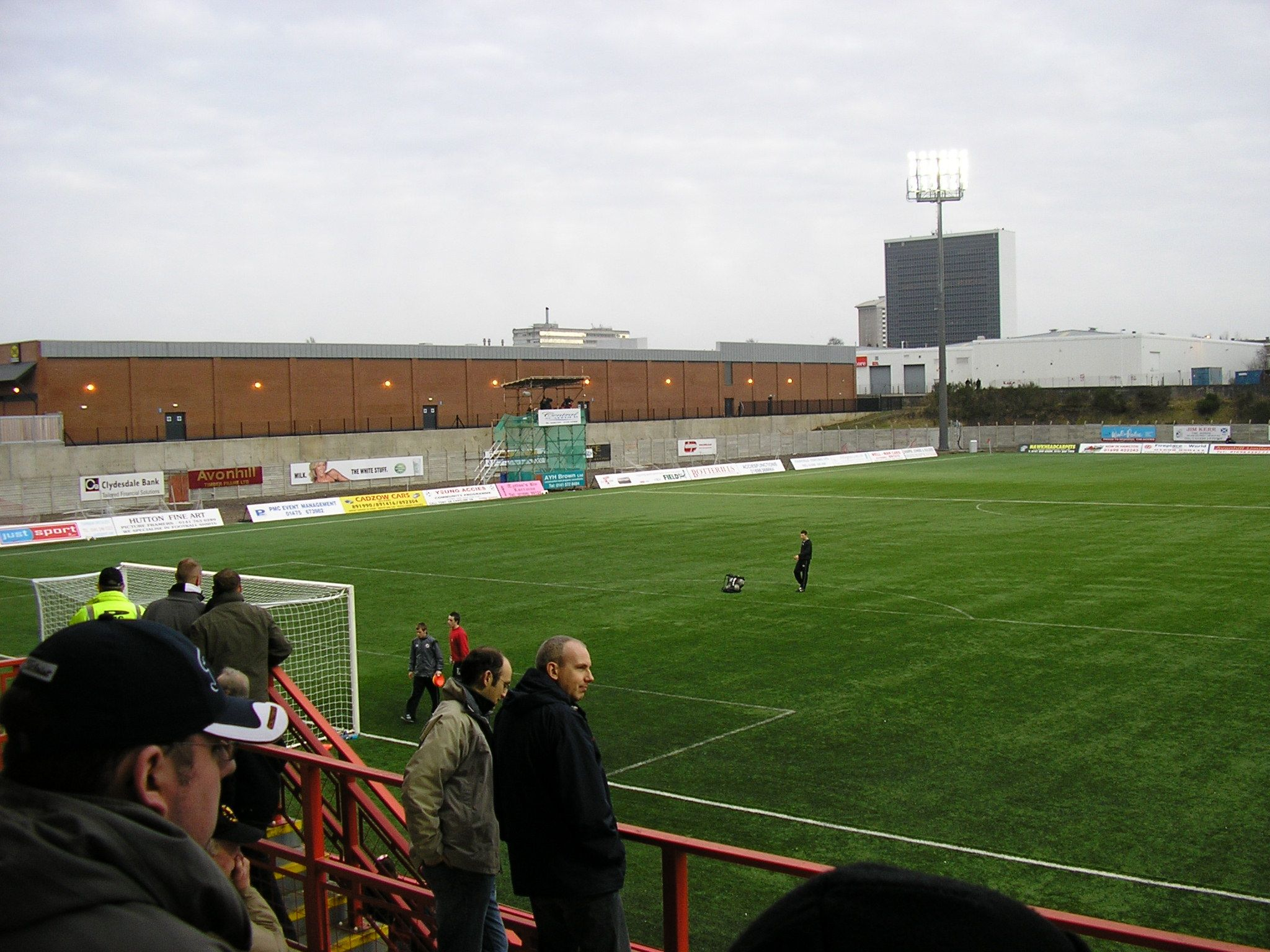 New Douglas Park In 2020 St Mirren British Football St Johnstone