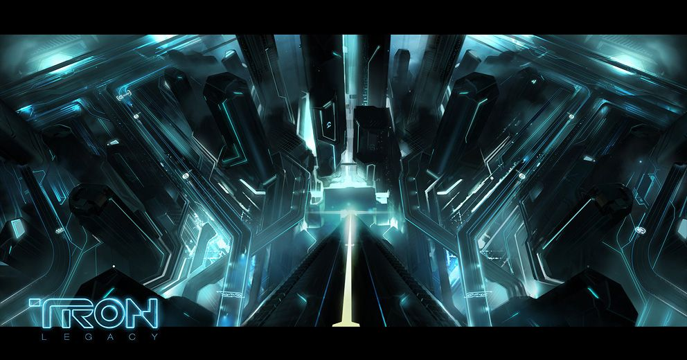 TRON LEGACY Concept ArtTron LegacyCity WallpaperScience