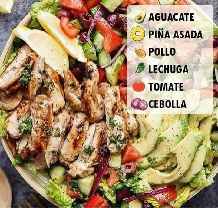 Almuerzos saludables para bajar de peso recetas