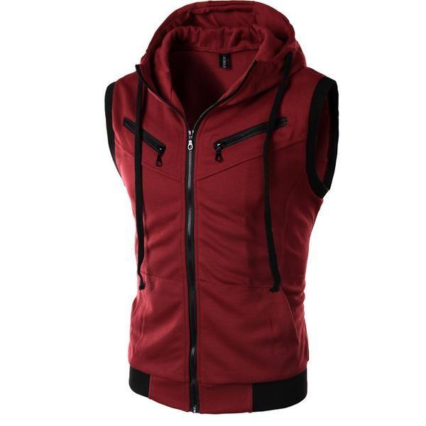 981d8f1fd605e Dark Assassin Vest Hoodie