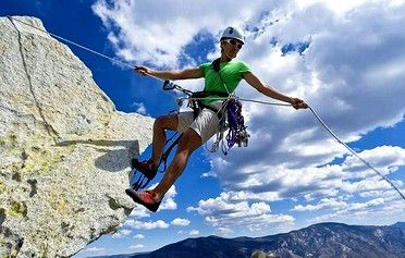 09 go mountain rappelling  rappelling outdoor climbing
