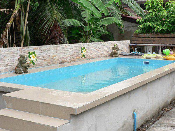 Superior Above Ground Swimming Pools Backyard Design Ideas