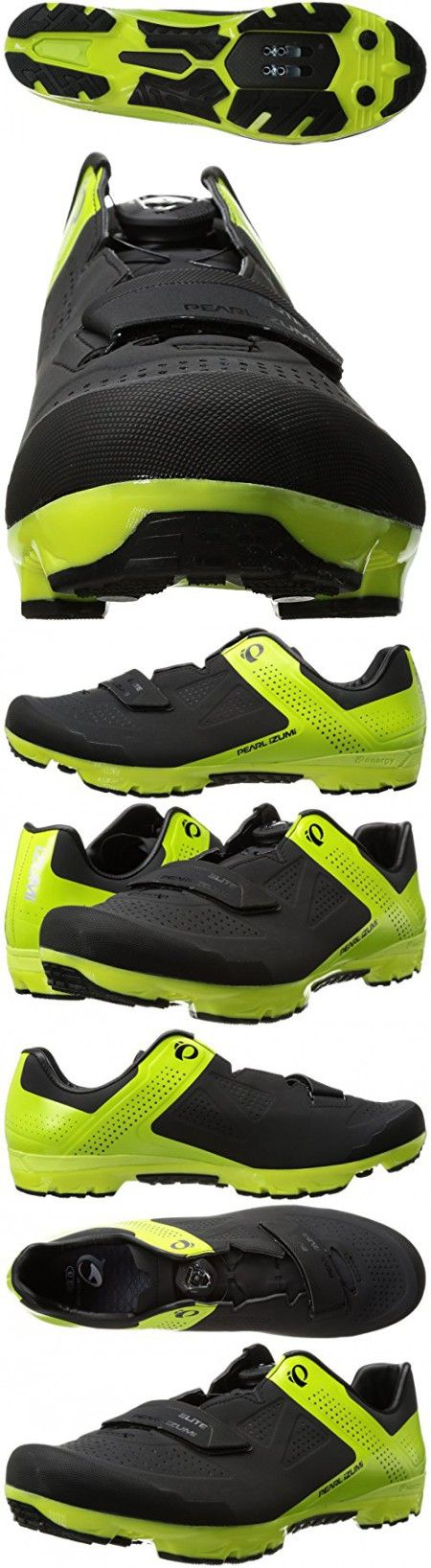Pearl Izumi Men S X Project Elite Cycling Shoe Black Lime Punch