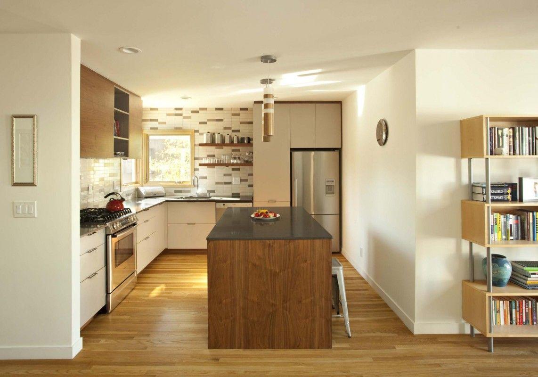 Chic interior design with sleek lines