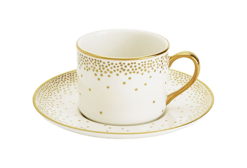 Trousdale Teacup & Saucer | Kelly Wearstler | One Kings Lane