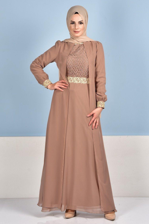Sefamerve Tesettur Sifon Abiye Elbise Modelleri Elbise Modelleri Elbise Nedime Giysileri