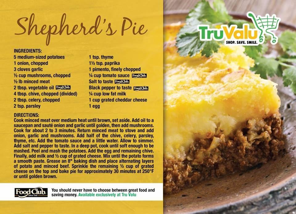 Shepherd S Pie Trini Food Caribbean Recipes Guyanese Recipes