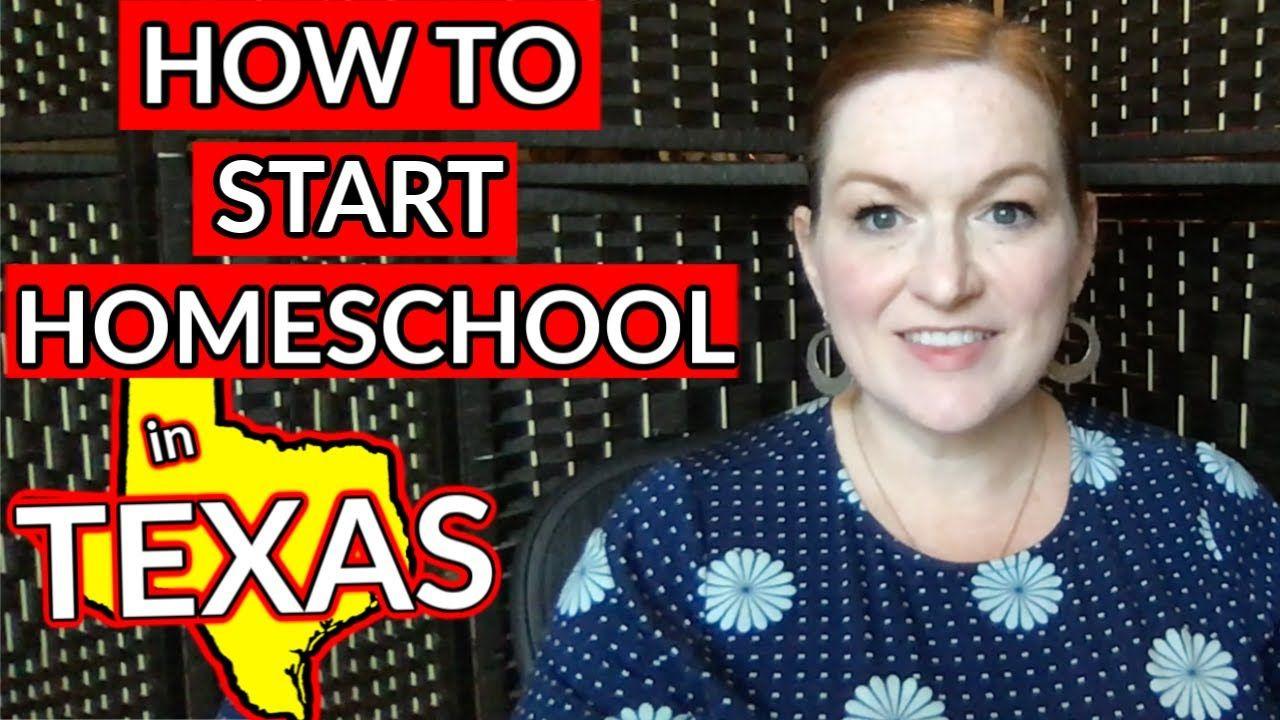 How to Start Homeschooling in Texas Texas Homeschool