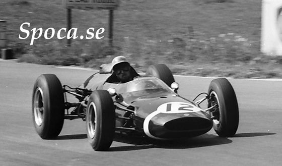 Jo Bonnier, Cooper-Climax T60, Rob Walker Racing Team (RRC Walker Racing Team), Belgium, 1963 (5th). Bildmuseet Spoca