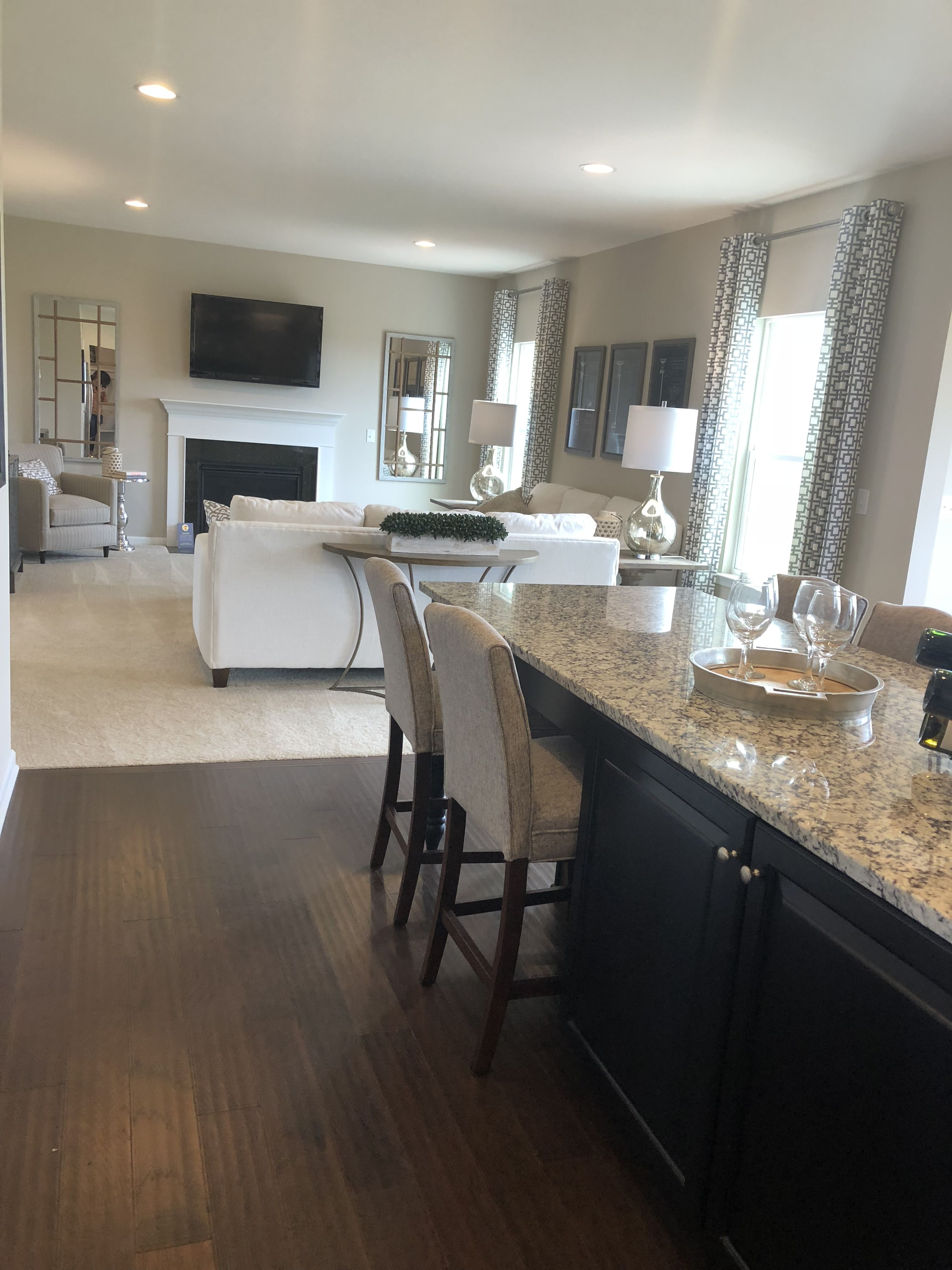 Venice Kitchen Family Room Home Decor Home Repairs Ryan Homes