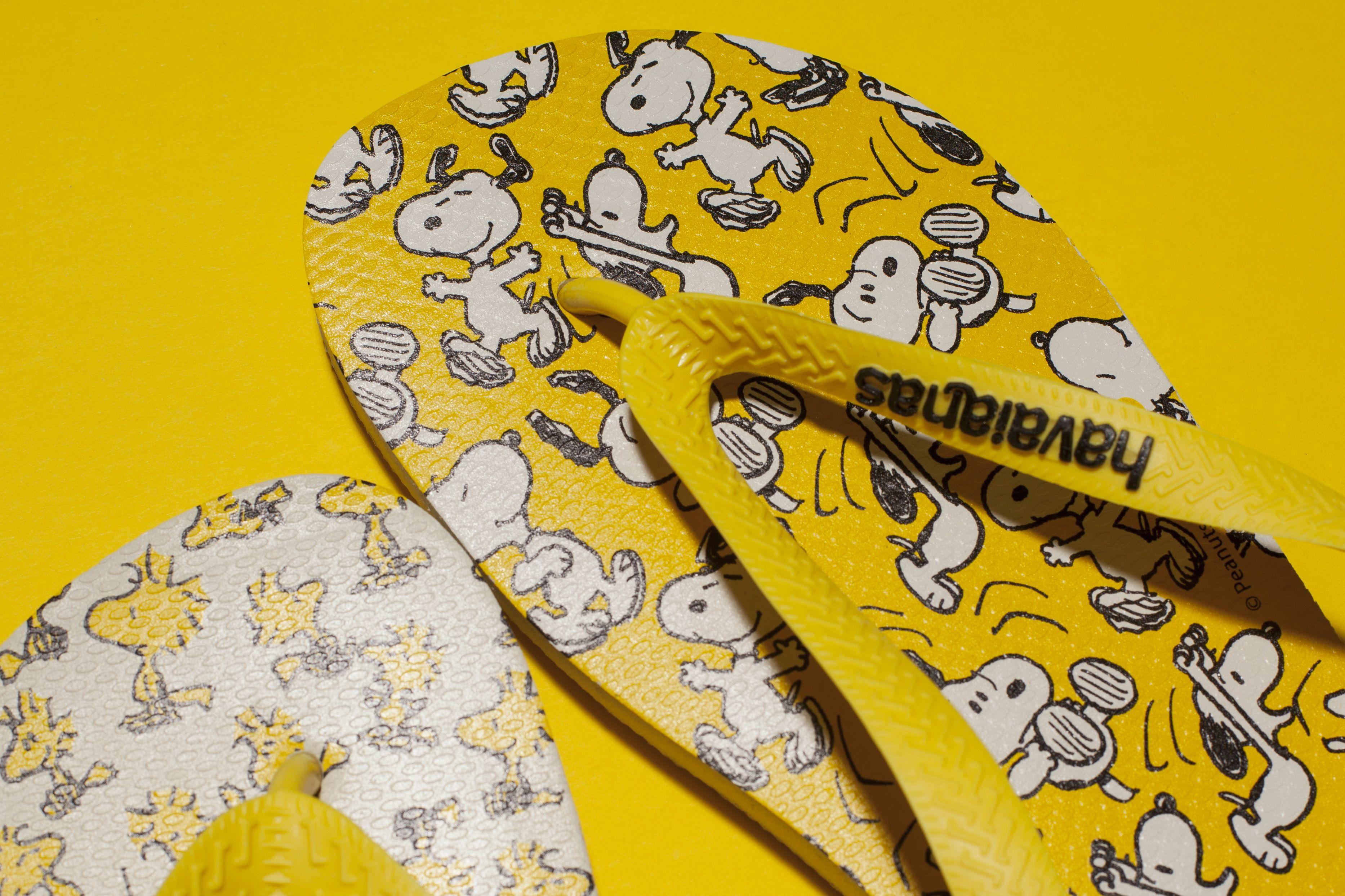 Snoopy Havaianas flip flops Kid shoes, Man shop, Yellow