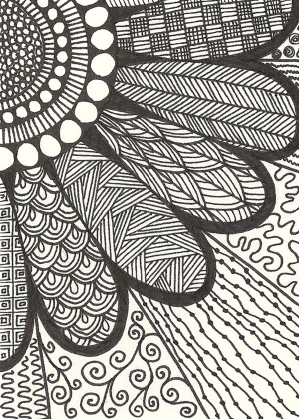 60 More Zentangle Patterns To Practice With Art Inspiration And Unique Zentangle Patterns