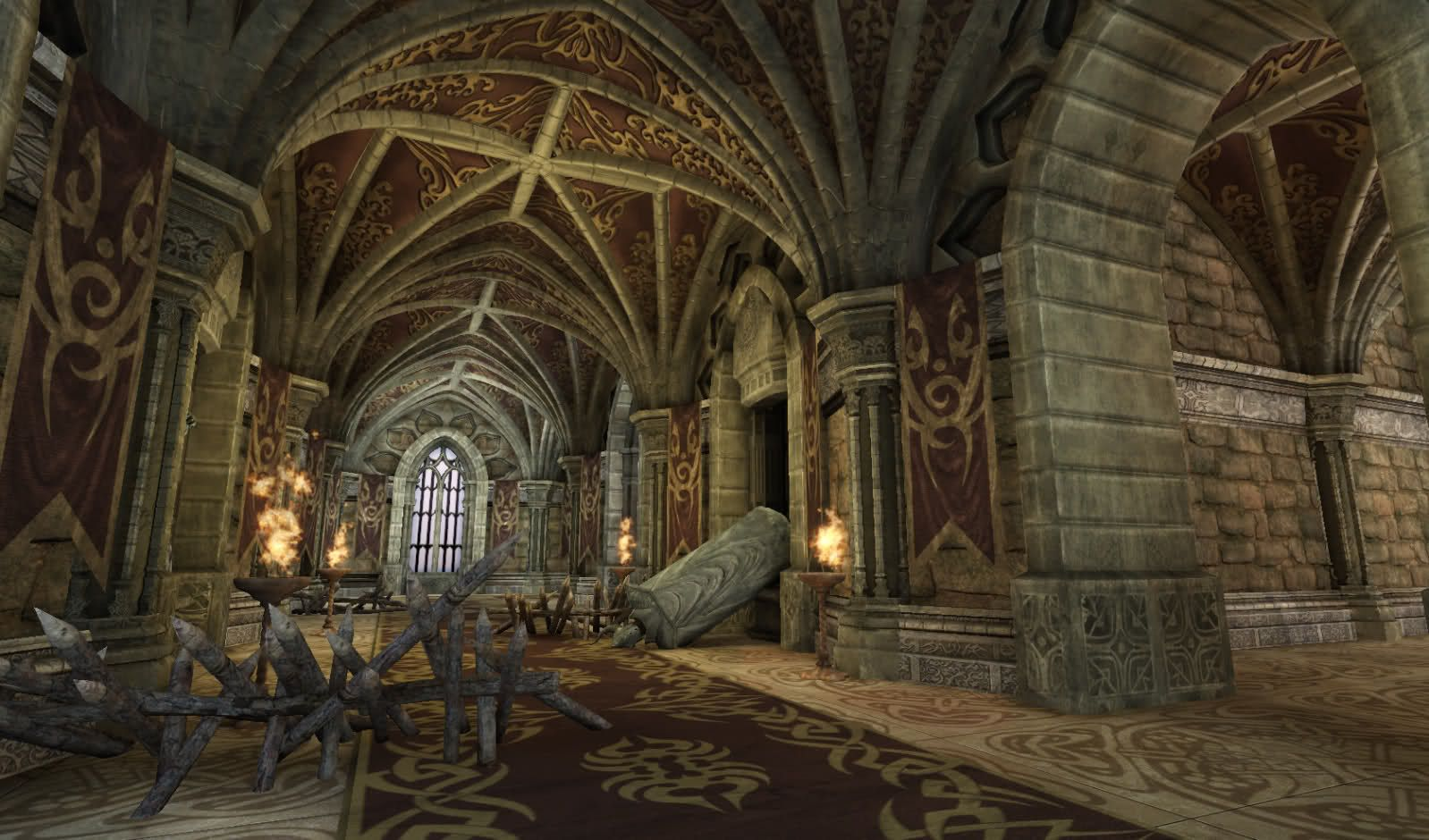 Hey Guys Here Are Some Early Shots Of A Castle Interior