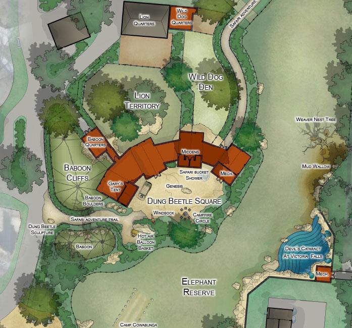 Camp Cowabunga Zoo Glmv In 2020 Zoo Architecture Zoo Topeka Zoo