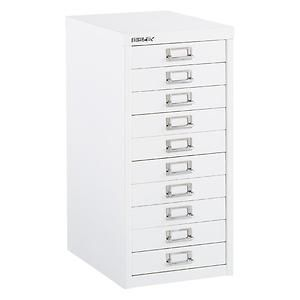 Bisley White 8 10 Drawer Collection Cabinets Storage Drawers Container Store