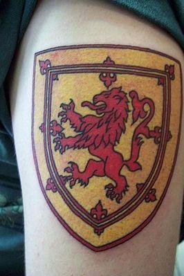 4878b436b Rampant lion | Tattoo inspiration | Lion tattoo, Scottish tattoos ...