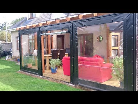 With Polycarbonate Roof And Pvc Side