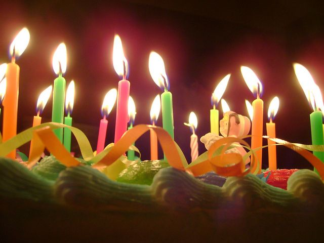 Birthday Cake Images With Candles The Cake Boutique