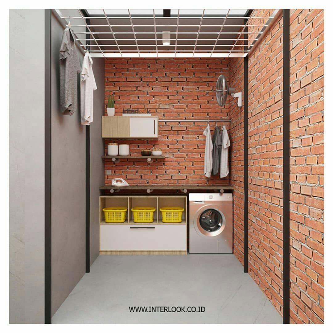 320 Likes 3 Comments Dewi M Muljono Dewi Mulyani5455 On Instagram Laundry Area Photo Belo Ruang Cuci Baju Ruang Cuci Dekorasi Rumah Elegan