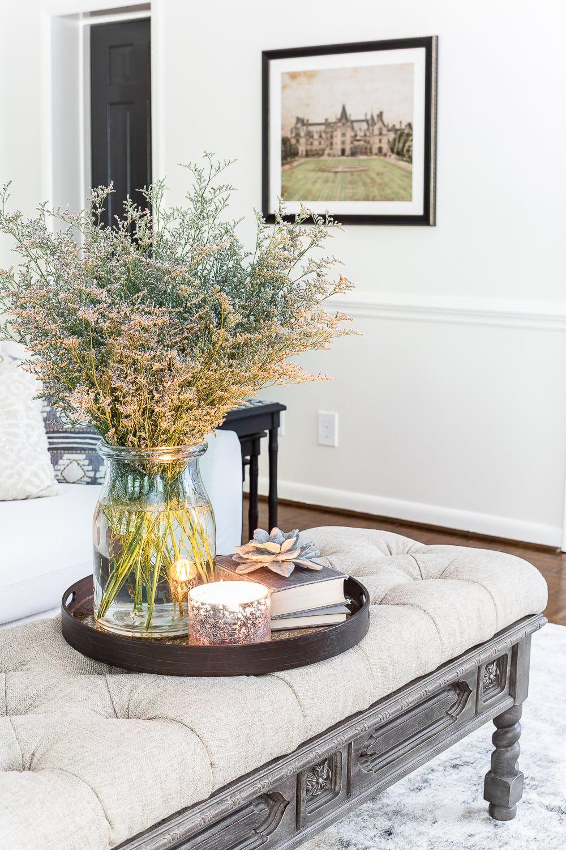 Summer Living Room Tour Esalerugs Refresh Table Decor Living