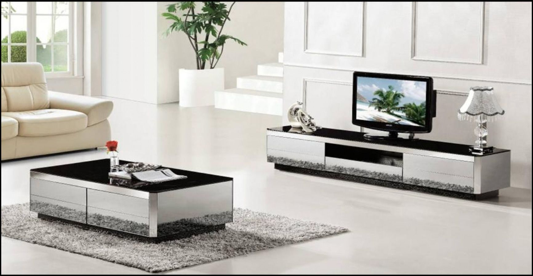 Tv Stand And Coffee Table Setblack Tv Stand And Coffee Table Set - Modern tv stand and coffee table set