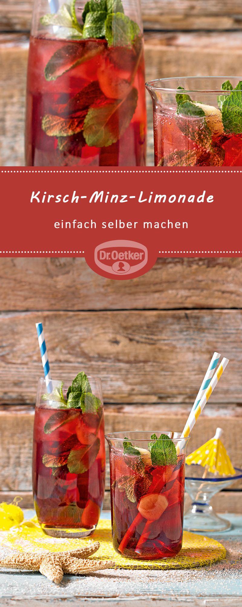 Photo of Kirsebær-mynte-limonade