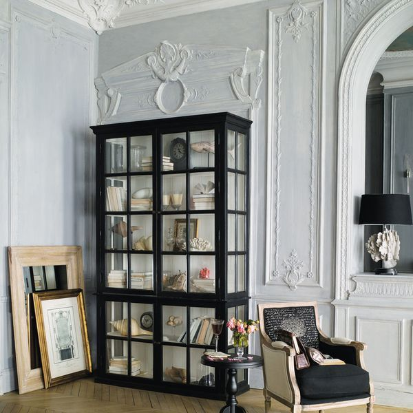 meuble vitrine pas cher en verre 17 vitrines de rangement salons. Black Bedroom Furniture Sets. Home Design Ideas