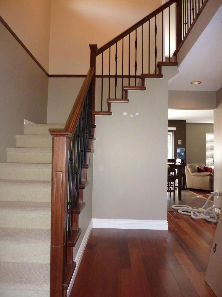 classic wood and iron stair banisters banisterremodel in