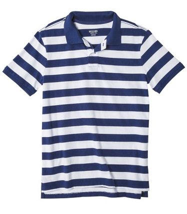 Gant Rugger striped polo. With anything.