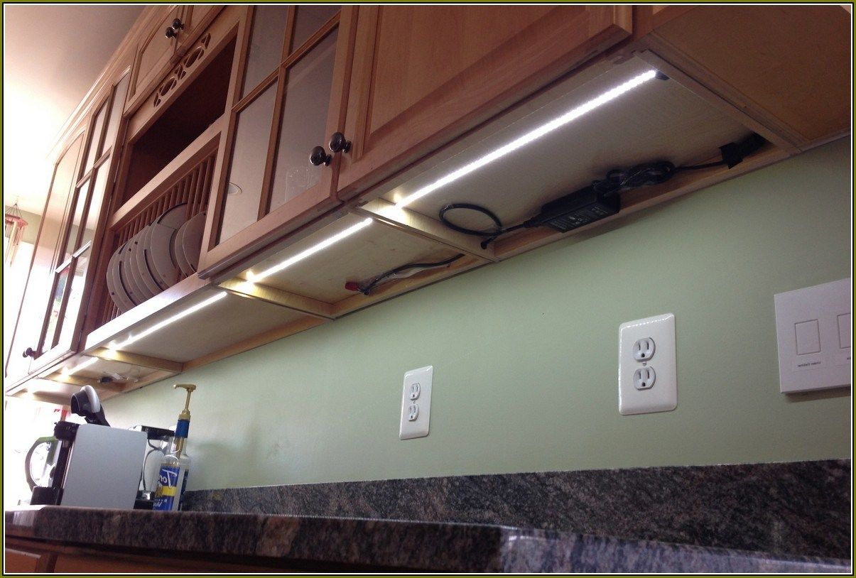 Led Baseboard Lighting Hallway Under Cabinet