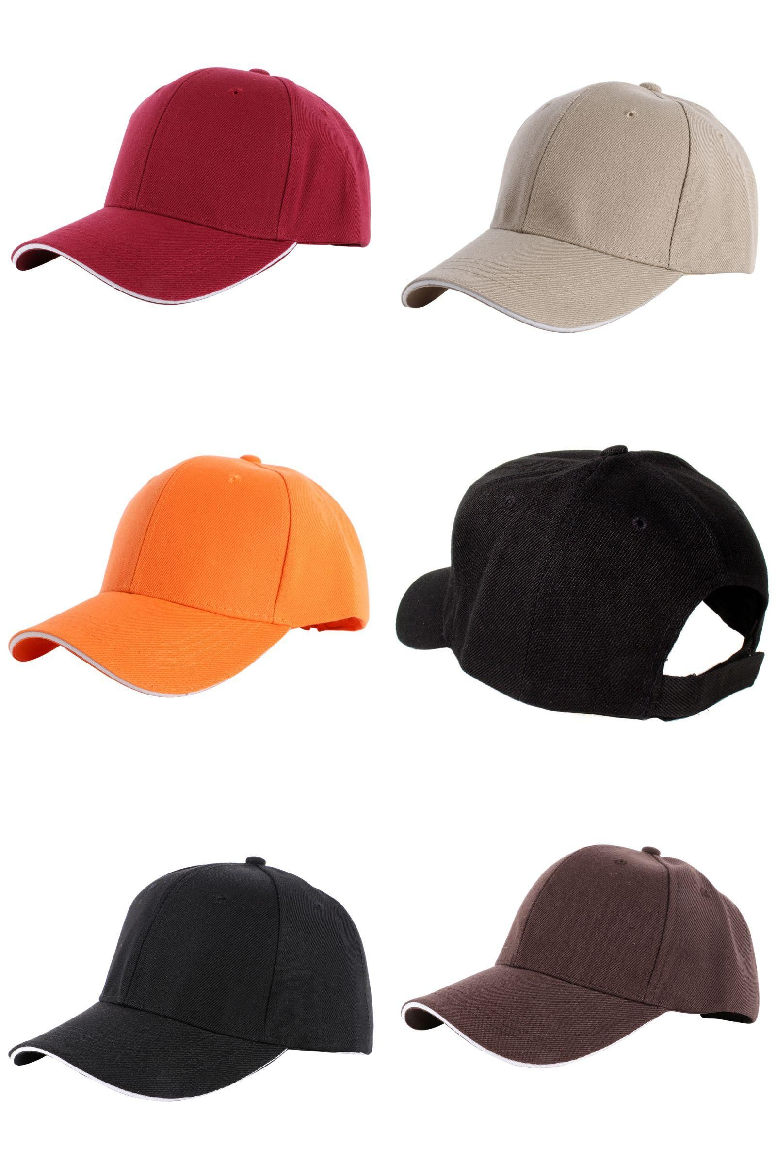 8072e4581f6f9 Visit to Buy] Men Women Blank Plain Baseball Cap Curved Visor Sun ...