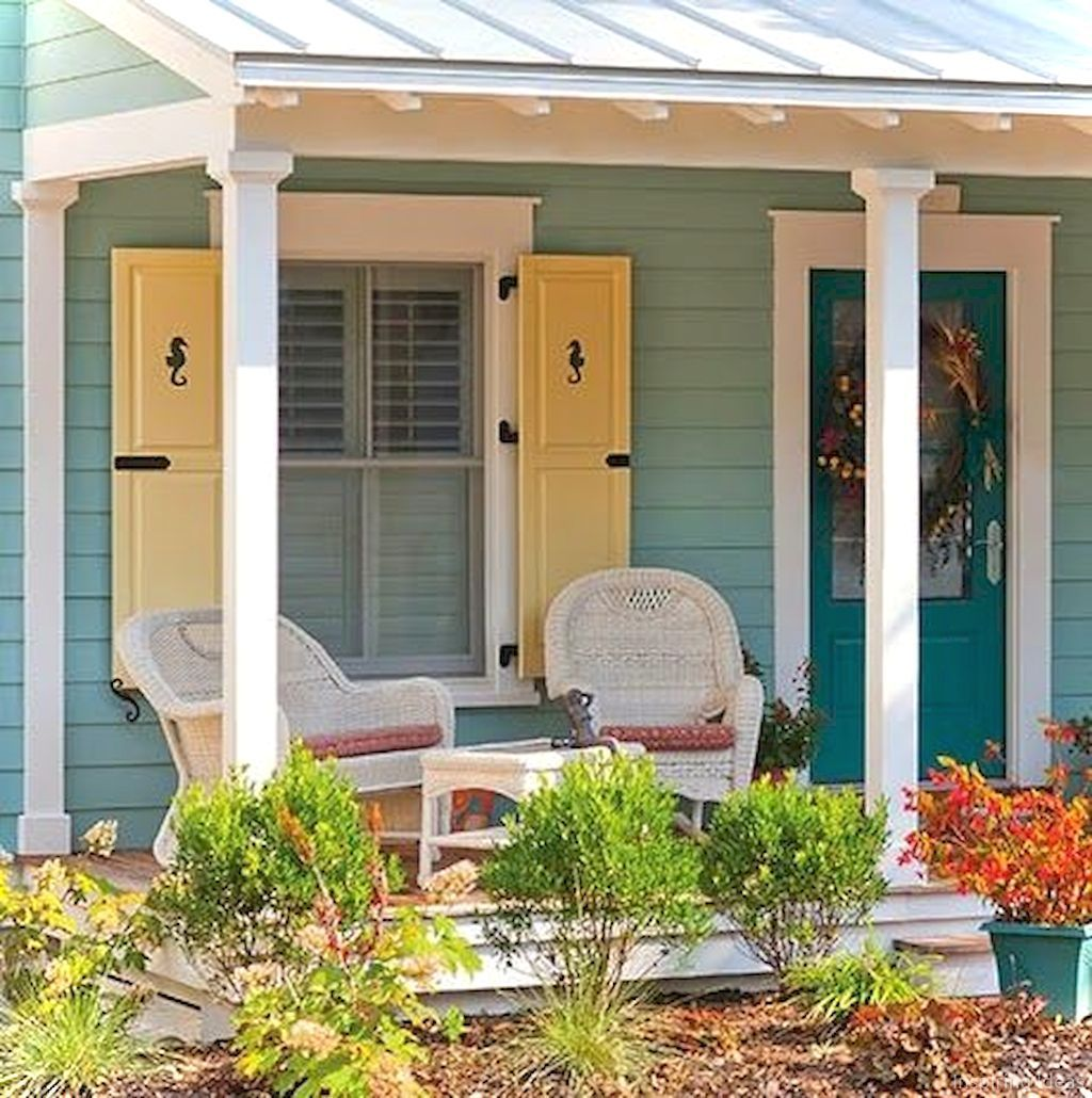 Awesome Cottage Exterior Colors Schemes Ideas066 ...