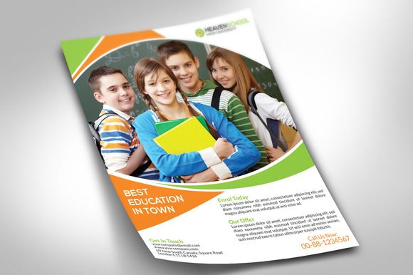 School Promotion Flyer | Flyer template