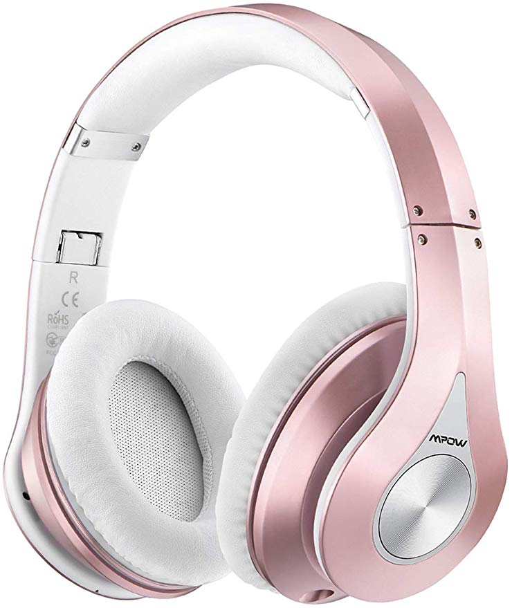 Amazon Com Mpow 059 Bluetooth Headphones Over Ear Hi Fi Stereo Wireless Headset Foldable Soft Bluetooth Headphones Wireless Wireless Headphones Headphones