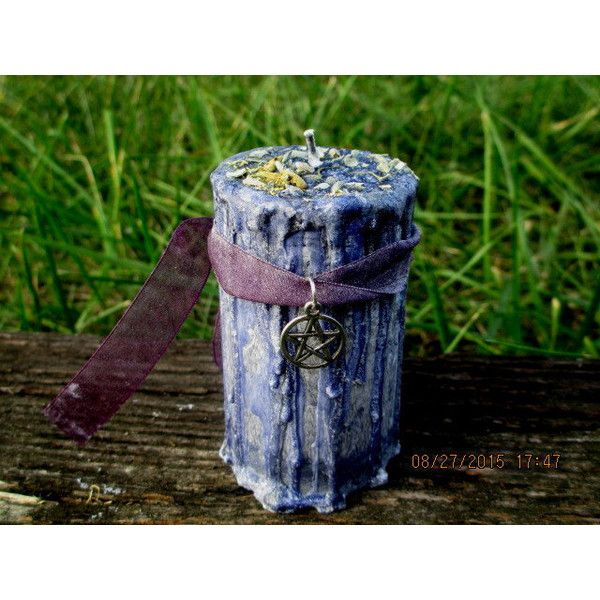 Meditation Candle Spell Candle Witchcraft Candle Wicca ...