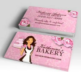 Cake bakery business cards bakery business cards bakery business cake fully customizable cake artist business card reheart Choice Image